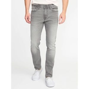 Old Navy gray slim fit jeans